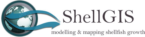 ShellGIS - shellfish-environment modelling and mapping